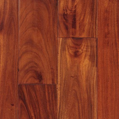 Handscraped Solid:<br /> Malaysian Walnut Nutmeg