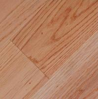 Smooth Solid:<br /> Red Oak Natural